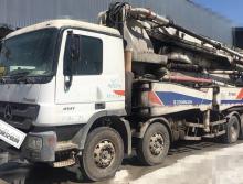 精品急售:出售11年差一個月中聯奔馳50米泵車(全網性價最高)