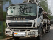 精品转让2007年中联五十铃底盘37米泵车(国三)
