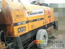 出售11年三一10018柴油拖泵(双主油泵,专打高层)