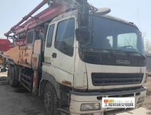 终端出售09年出厂三一五十铃46米泵车