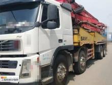 車主精品轉讓08年出廠三一沃爾沃45米泵車(國三綠標)