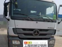 裸車轉讓精品2011年出廠中聯奔馳50米泵車(零故障)