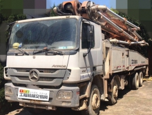 精品转让13年出厂中联奔驰56米泵车