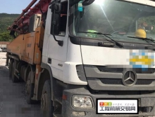 終端裸車出售2012年8月出廠三一奔馳52米(原法務車)