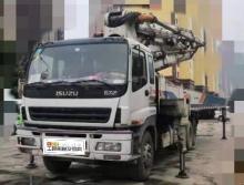 出售2010年出厂中联五十铃47米泵车(三桥叉腿)