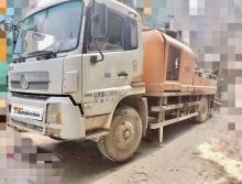 一手终端车主出售2013年出厂中联东风10018车载泵
