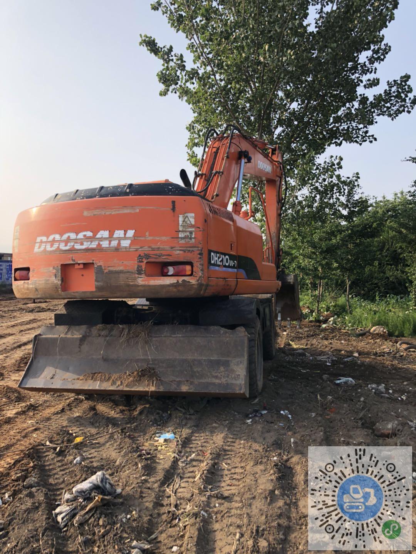 转让斗山2010年斗山210-7轮挖轮式挖掘机