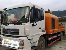出售14年6月出廠中聯東風10018車載泵《國四》
