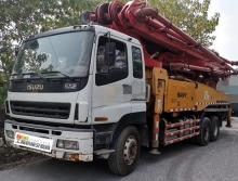 車主精品轉讓10年出廠三一五十鈴46米泵車(三橋叉腿可分期)