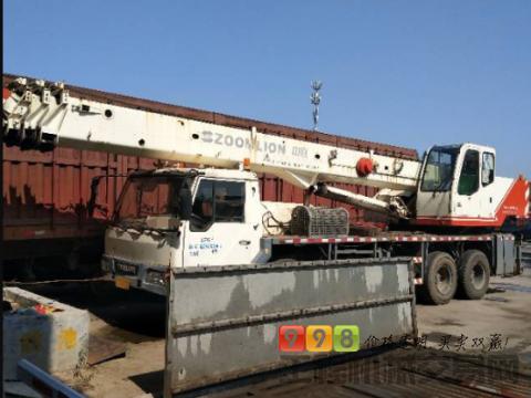 转让中联重科2009年20吨吊车