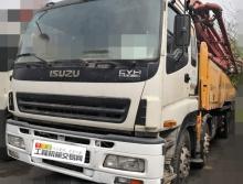 法务裸车处理10年底出厂三一五十铃52米泵车