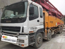 轉讓精品2012年徐工五十鈴49米泵車(6節臂)