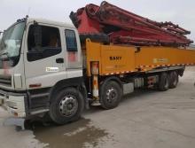 出售12年三一五十鈴52米泵車(極品北方車)