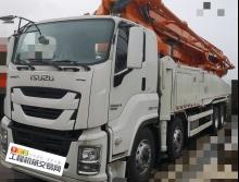 2019年出厂全新国五四桥52米泵车(998自有品牌免服务费)