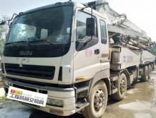 精品出售09年8月份出廠中聯五十鈴48米泵車