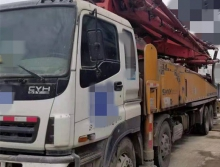 车主一手车转让10年出厂三一五十铃48米泵车(大排量)