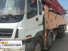 裸車轉讓10年出廠三一五十鈴56米叉腿泵車(國三升國五神器)