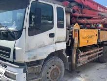 出售10年差不到一个月三一五十铃37米泵车