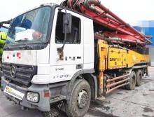 精品出售09年三一奔驰46米泵车
