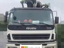 終端出售10年9月份中聯五十鈴46米泵車(車況無憂)