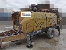 出售2012年中聯8014柴油拖泵