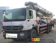 精品出售11年出廠中聯奔馳47米泵車(可分期雙油泵大排量)
