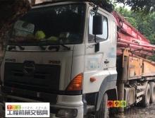 車主出售10年9月三一日野37米泵車(大排量,一手車)