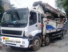 出售12年中联五十铃46米泵车(6节臂)