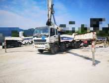 出售2011年出廠中聯五十鈴52米泵車