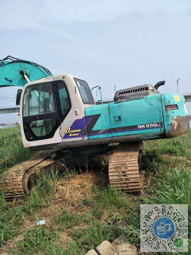 轉讓神鋼2007年馬版神鋼250一6E中挖