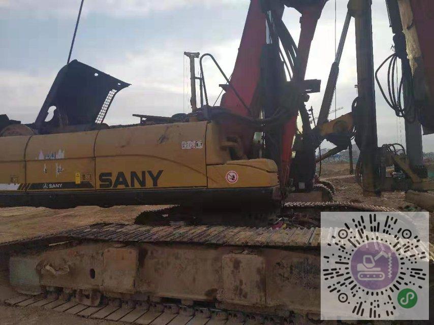 轉讓三一重工2014年280卡底旋挖鉆機