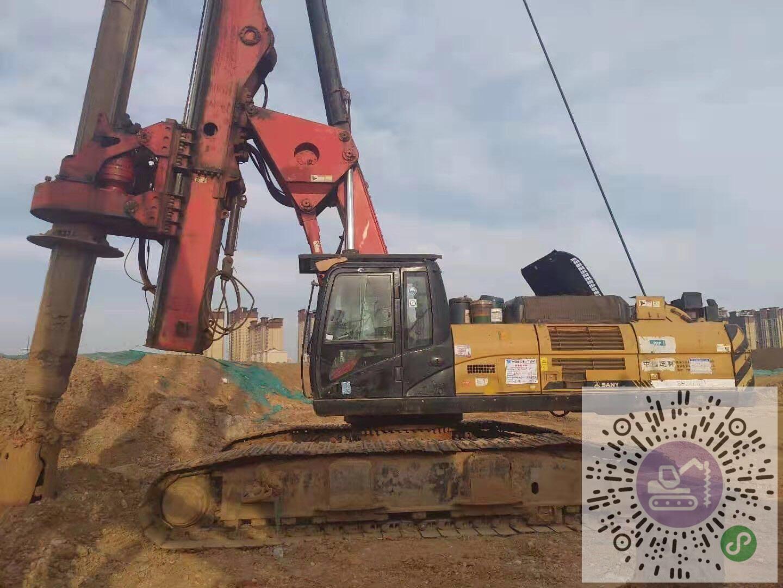 轉讓三一重工2014年卡底280旋挖鉆機