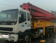車主直售06年出廠三一五十鈴37米泵車