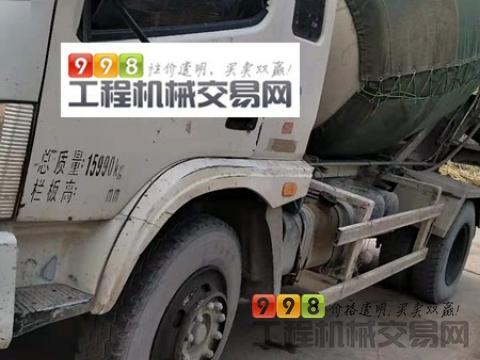 车主裸车转让14年福田6方搅拌车