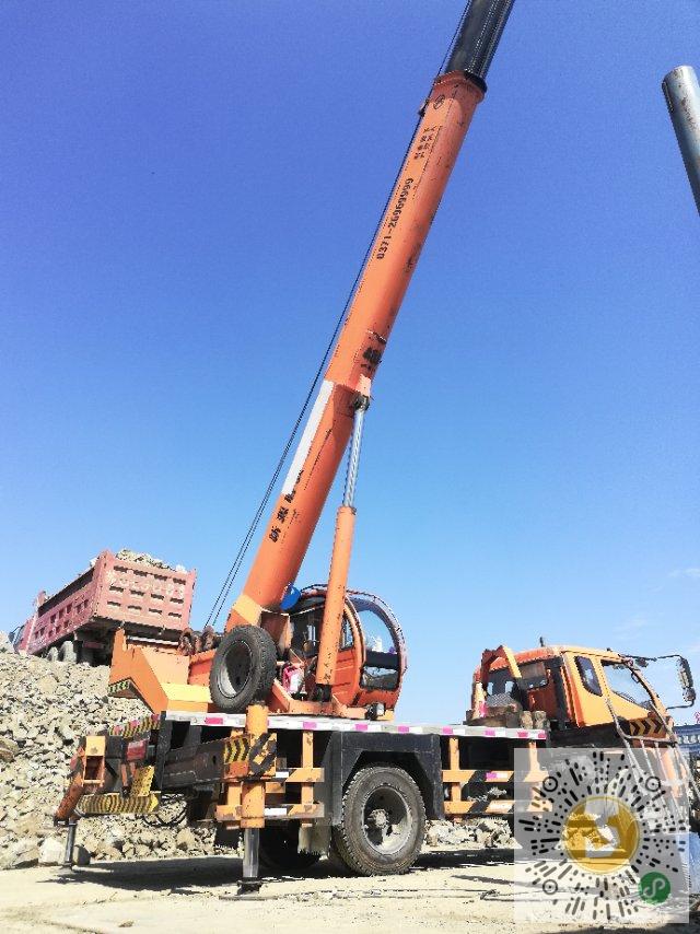轉讓新源2016年10噸吊車