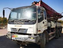 出售07年福田37米泵車