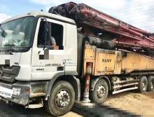 精品出售13年三一奔馳56米泵車