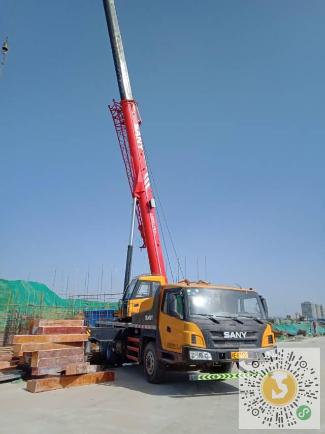 转让三一重工2016年25吨吊车