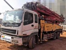 出售2012年3月三一五十鈴46米泵車(黑轉塔系統靈敏)