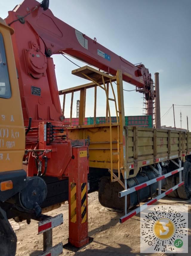 转让青山2012年13吨随车吊