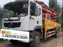 车主精品转让17年农建37米泵车(国四)