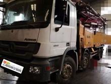 裸车处理2012年三一奔驰底盘52米泵车