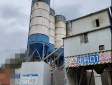 转让18年生产湖南中砼标120搅拌站(提升斗)