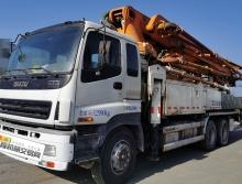 精品原法务车转让14年出厂中联五十铃47米泵车(大排量可分期)