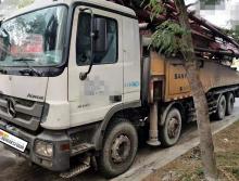 精品转让2012年三一奔驰底盘56米泵车