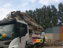 出售11年中联斯坦尼亚56米泵车