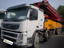 精品转让2011年三一沃尔沃底盘62米泵车