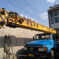 转让蚌埠2006年12吨四节臂吊车