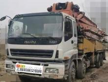 車主轉讓08年三一五十鈴48米泵車(國三綠標大排量)