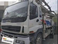 2014年6月出廠(12月上牌)中聯五十鈴五臂40米泵車(車況100%保證)